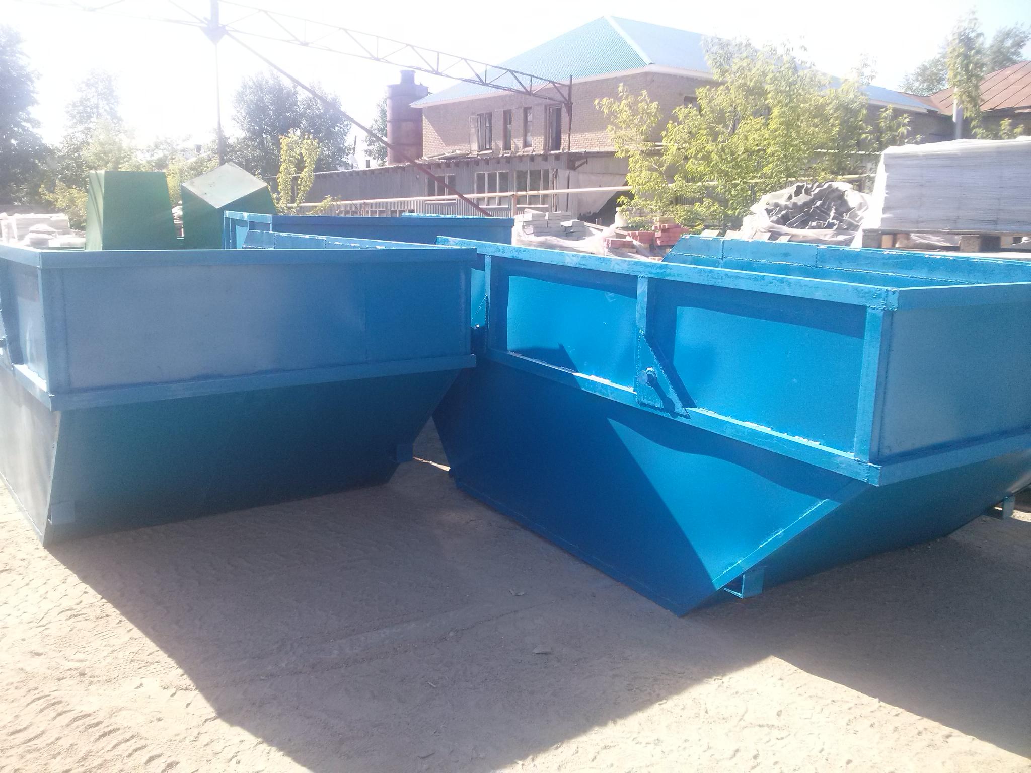 Вывоз мусора контейнерами – просто и удобно